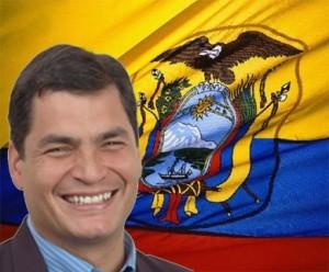 Rafael Correa, President of Ecuador