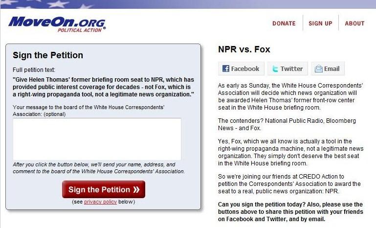 Moveon NPR