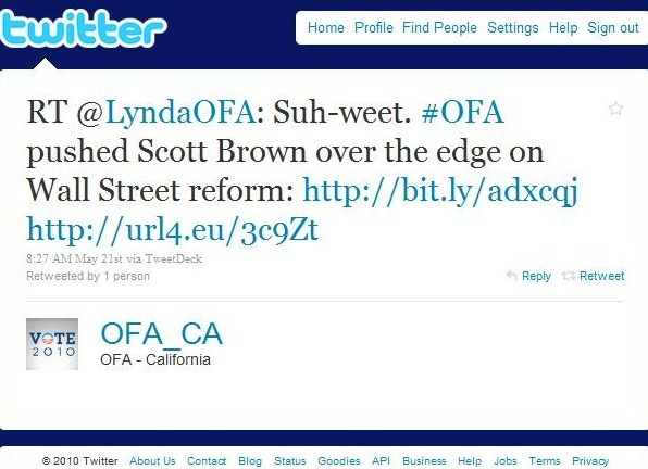 Scott Brown & OFA