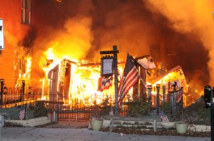 Gettysburg fire