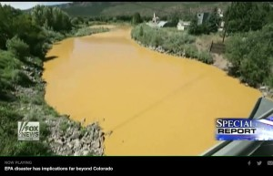 Animas river spill picture